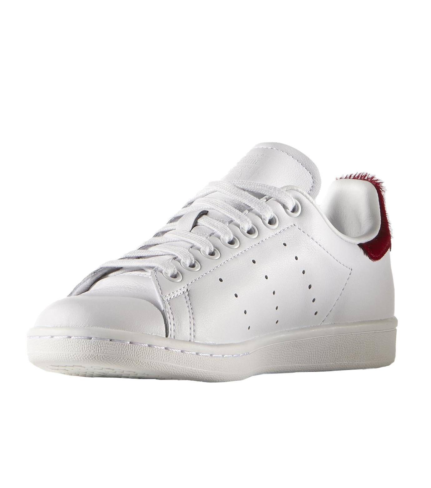 adidas(アディダス)のSTAN SMITH W-WHITE(シューズ/shoes)-S75562-4 拡大詳細画像3