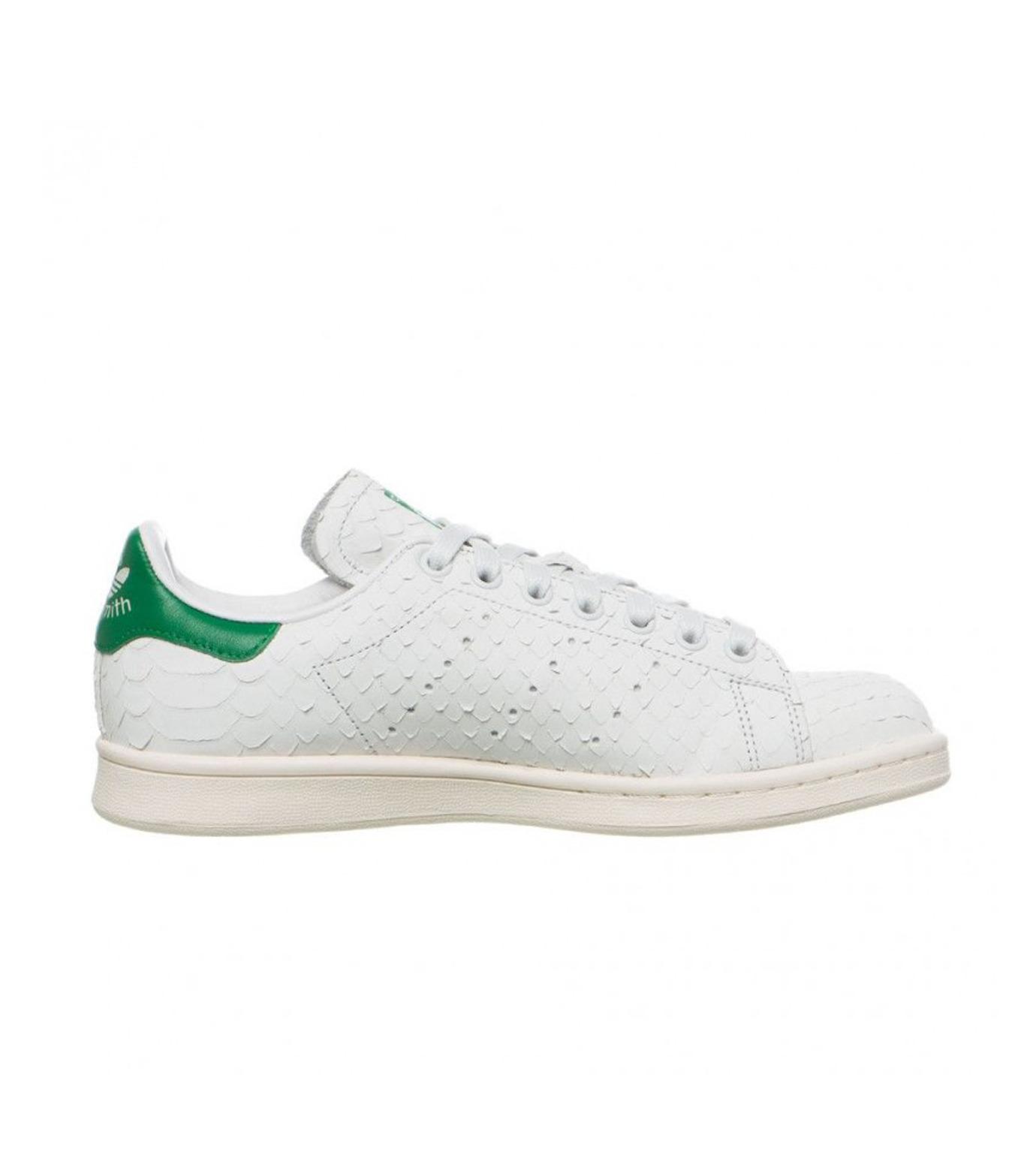 adidas(アディダス)のSTAN SMITH W-WHITE(シューズ/shoes)-S76665-4 拡大詳細画像1