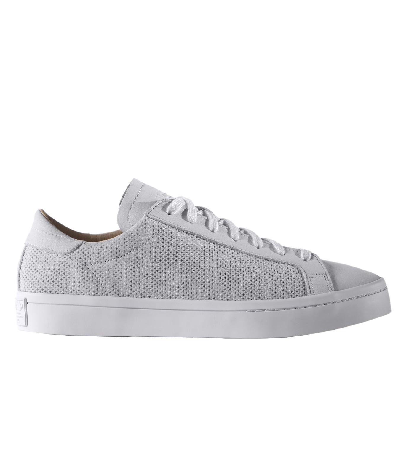 adidas(アディダス)のCourtVantage-WHITE(シューズ/shoes)-S78769-4 拡大詳細画像1
