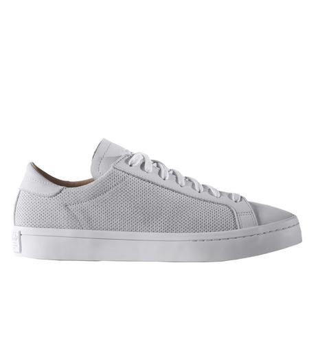 adidas(アディダス)のCourtVantage-WHITE(シューズ/shoes)-S78769-4 詳細画像1