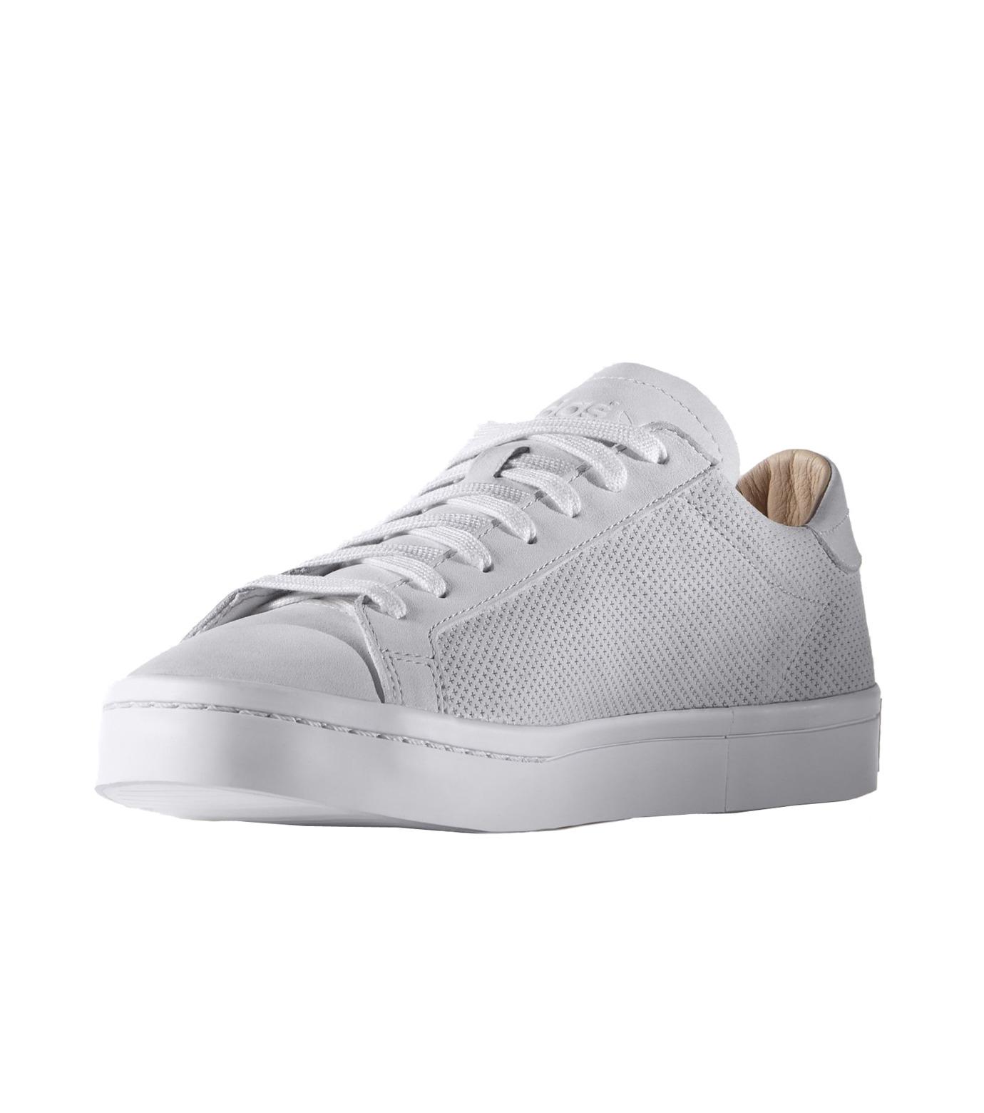 adidas(アディダス)のCourtVantage-WHITE(シューズ/shoes)-S78769-4 拡大詳細画像3
