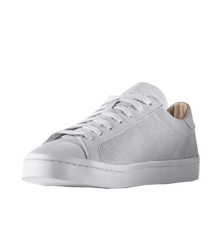 adidas(アディダス)のCourtVantage-WHITE(シューズ/shoes)-S78769-4 詳細画像3