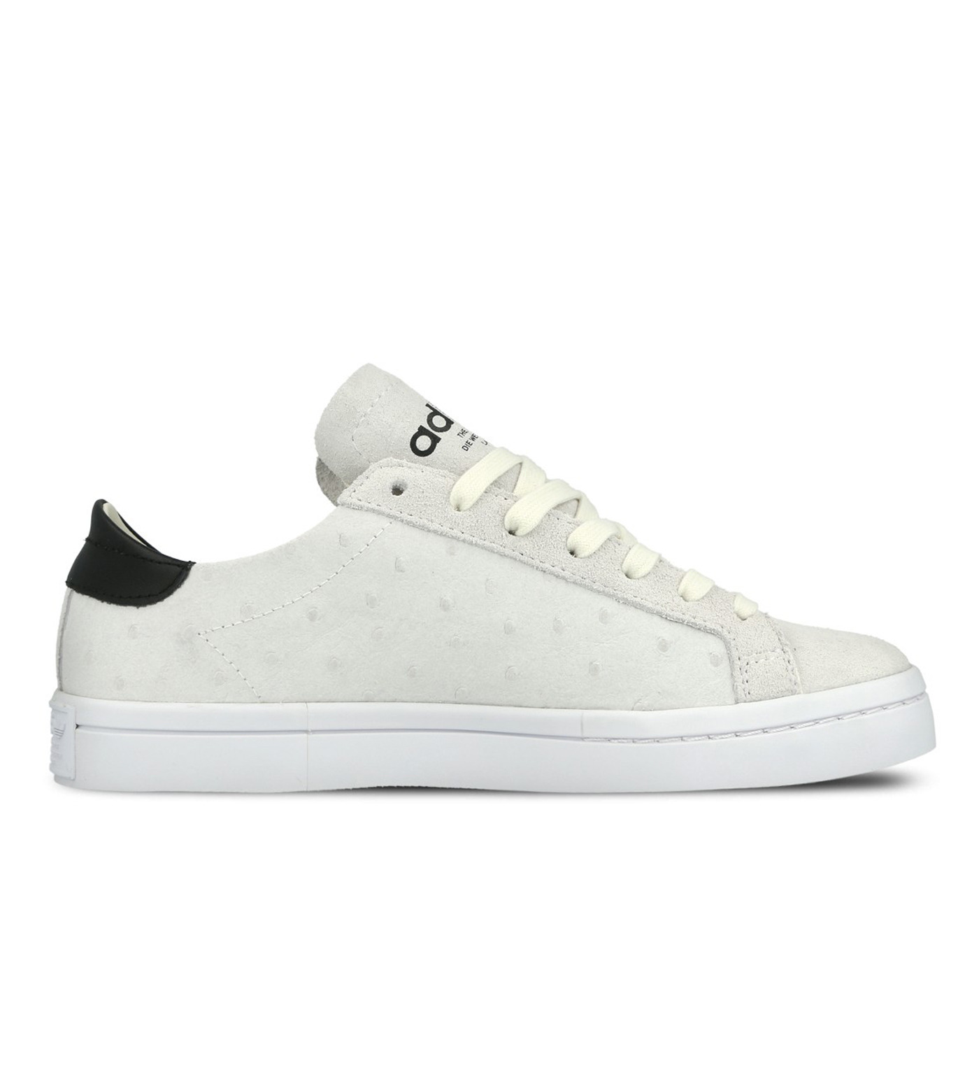 adidas(アディダス)のCourtVantage W-WHITE(シューズ/shoes)-S78887-4 拡大詳細画像1