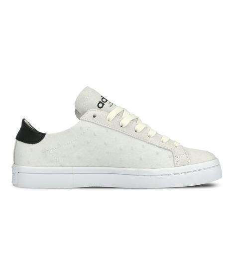 adidas(アディダス)のCourtVantage W-WHITE(シューズ/shoes)-S78887-4 詳細画像1