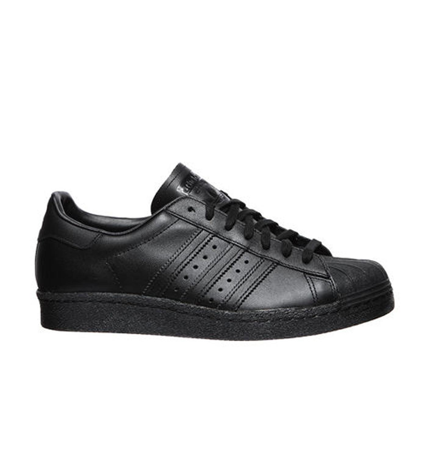 adidas(アディダス)のSUPERSTAR 80s-BLACK(シューズ/shoes)-S79442-13 拡大詳細画像1