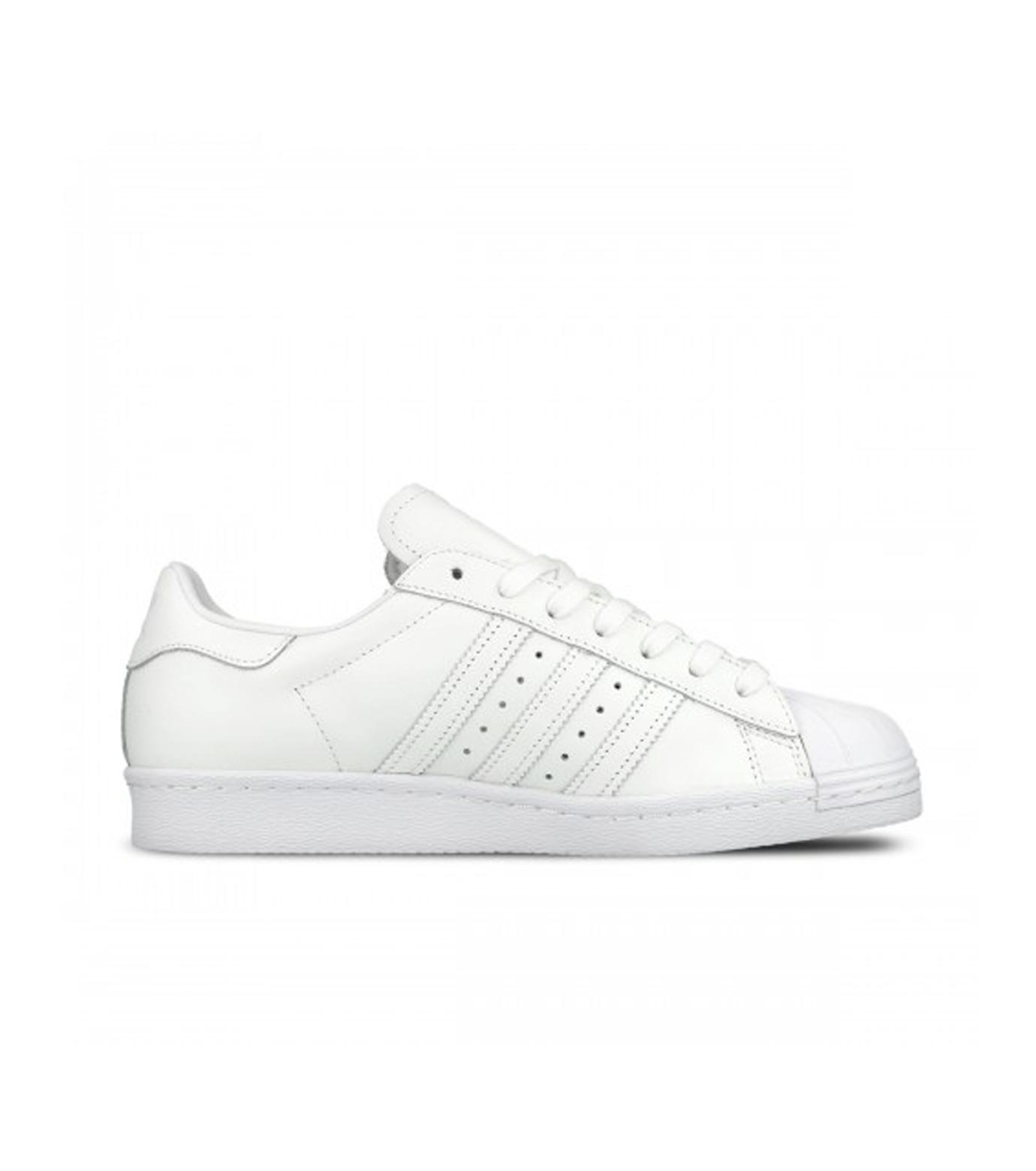 adidas(アディダス)のSUPERSTAR 80s-WHITE(シューズ/shoes)-S79443-4 拡大詳細画像1