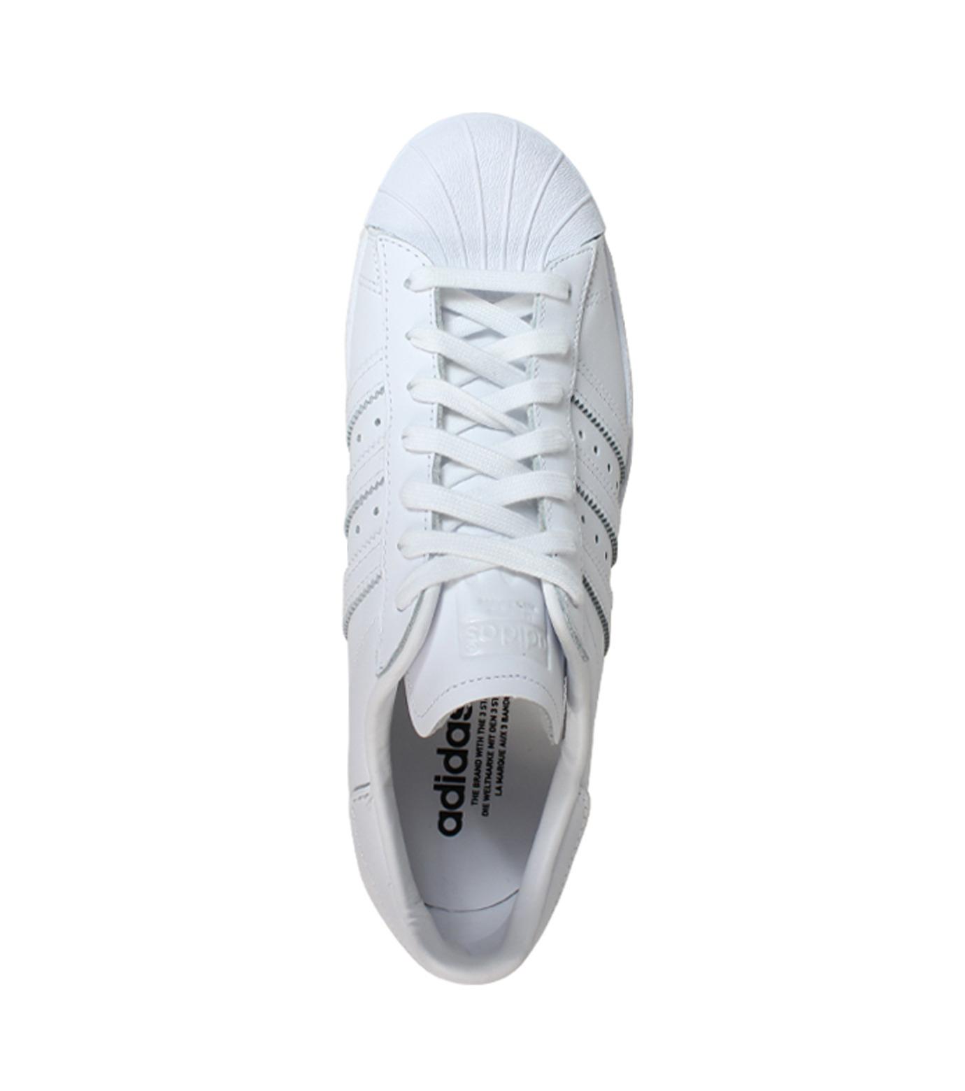 adidas(アディダス)のSUPERSTAR 80s-WHITE(シューズ/shoes)-S79443-4 拡大詳細画像3
