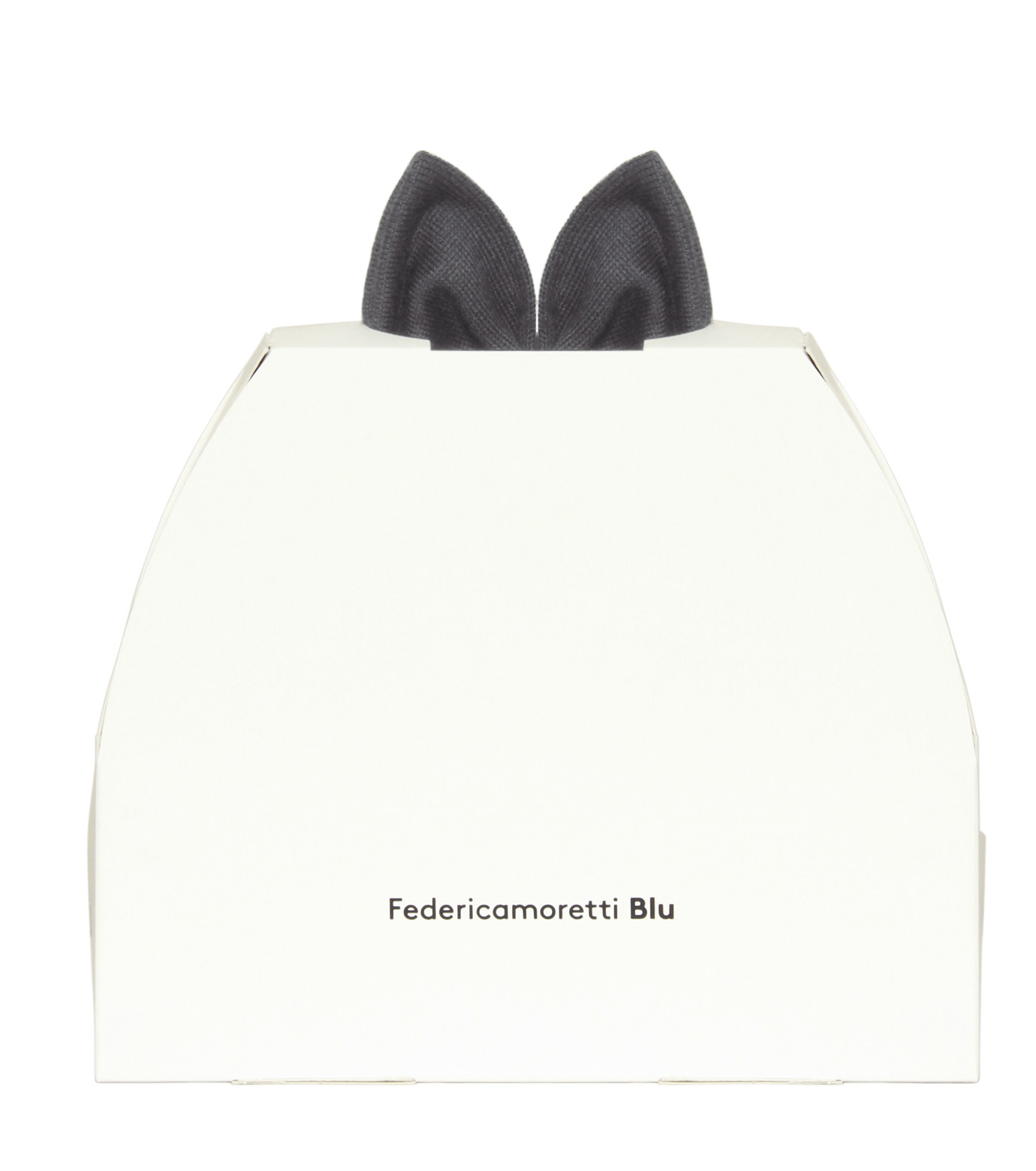 Federica Moretti(フェデリカ モレッティ)のKnit Cap w/Bow-GRAY(キャップ/cap)-SCAT-CAT-11 拡大詳細画像4