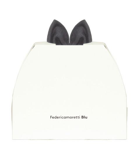 Federica Moretti(フェデリカ モレッティ)のKnit Cap w/Bow-GRAY(キャップ/cap)-SCAT-CAT-11 詳細画像4