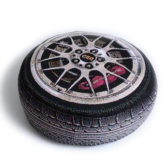 Chic Sin Design()のLuxury Car Wheel-BLACK(インテリア/interior)-SDM007-13 詳細画像2