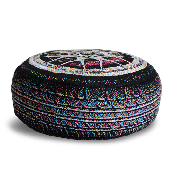 Chic Sin Design()のLuxury Car Wheel-BLACK(インテリア/interior)-SDM007-13 詳細画像3