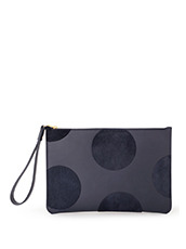 Sophie Hulme(ソフィーヒュルム) Talbot Pouch Haircalf Dot