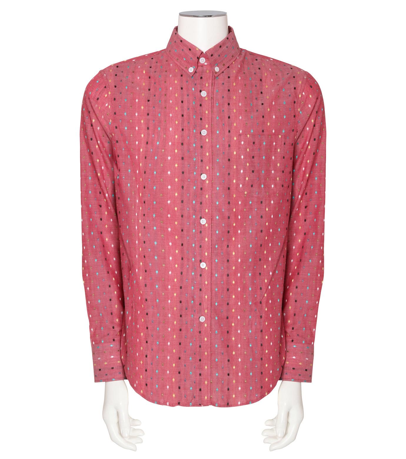 MUNSOO KWON()のPolka Dots Shirt-PINK(シャツ/shirt)-SH052-72 拡大詳細画像1