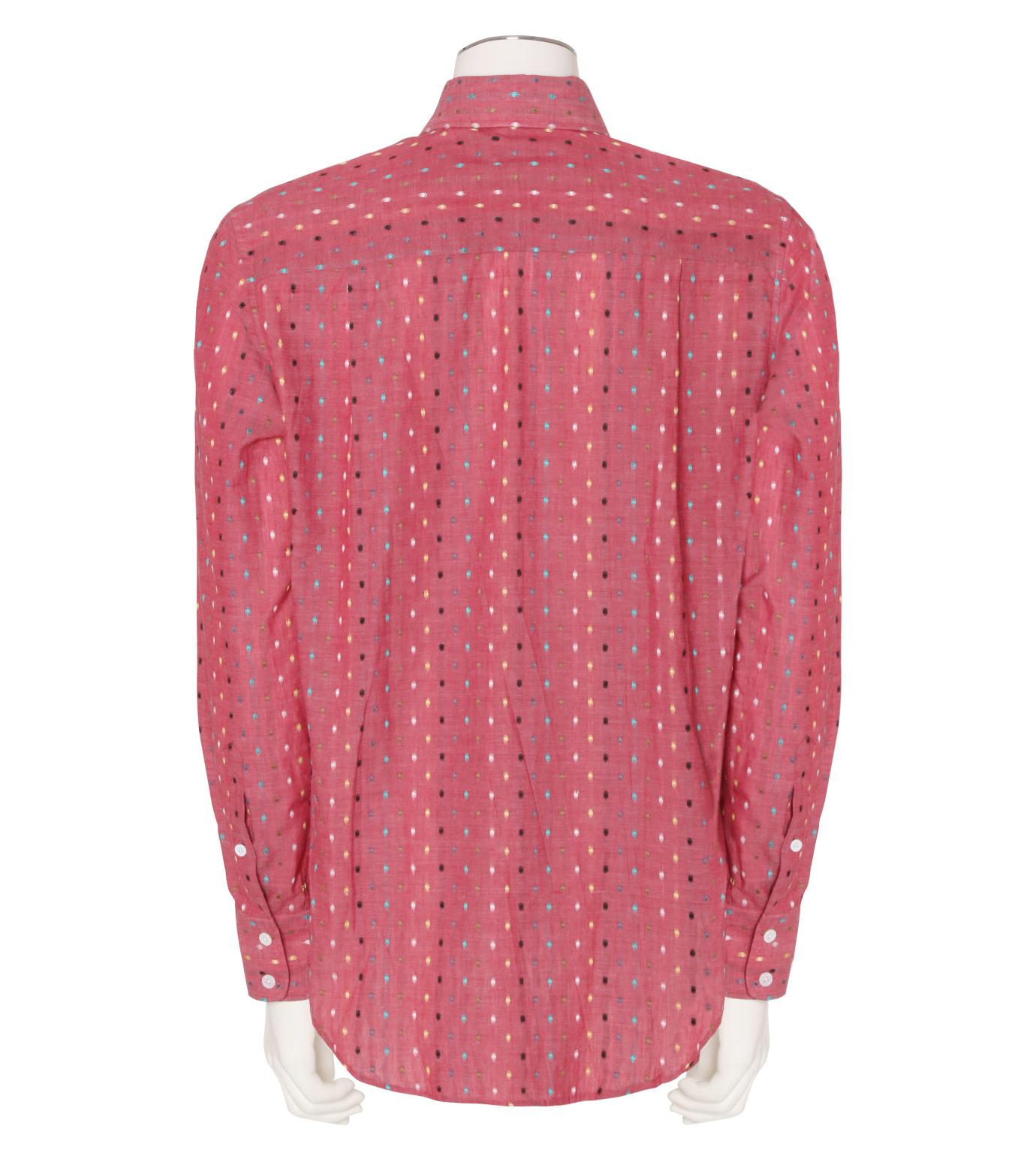MUNSOO KWON()のPolka Dots Shirt-PINK(シャツ/shirt)-SH052-72 拡大詳細画像2