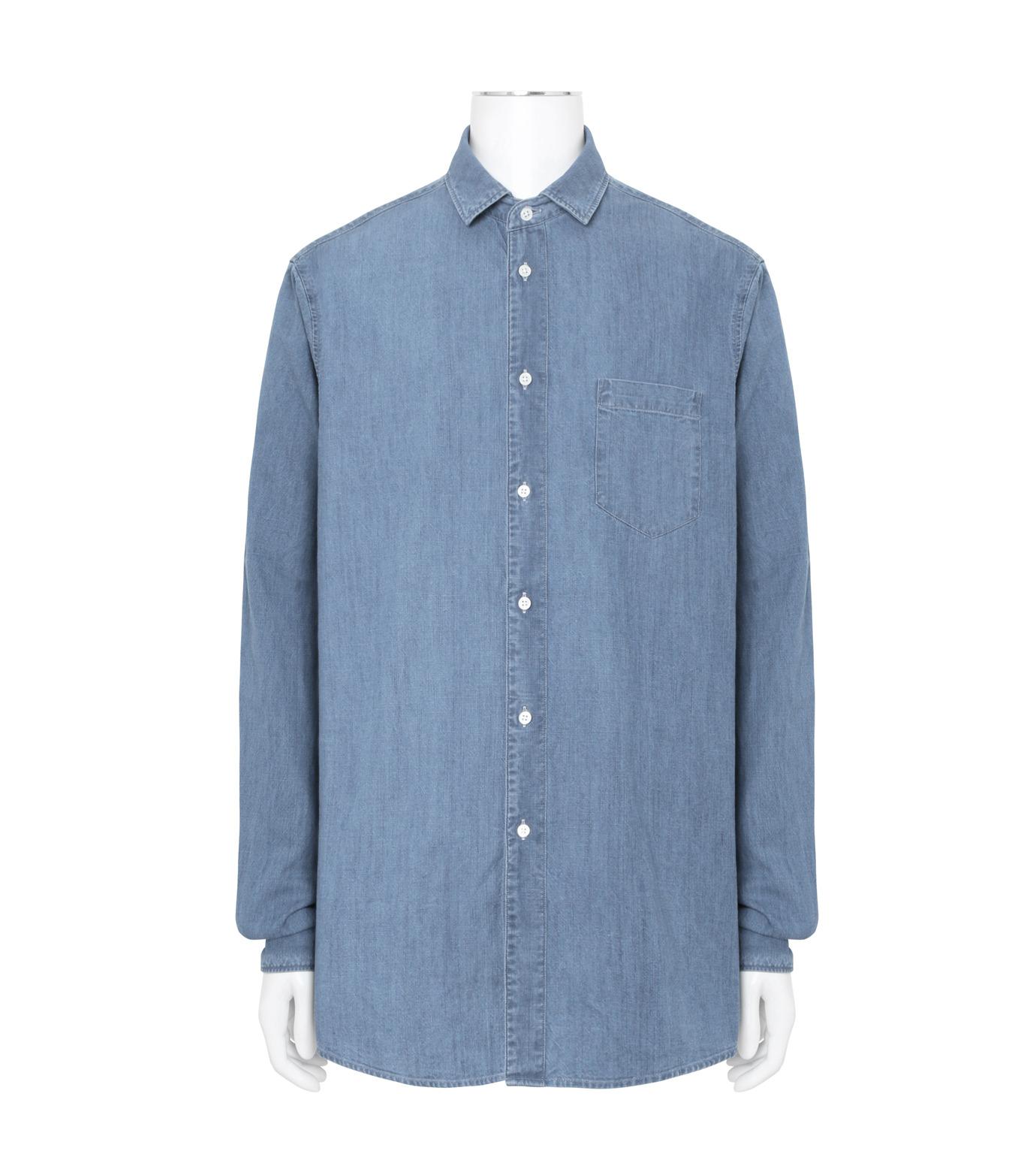 Herculie()のClassic Shirt-BLUE(シャツ/shirt)-SHIRT-115-92 拡大詳細画像1