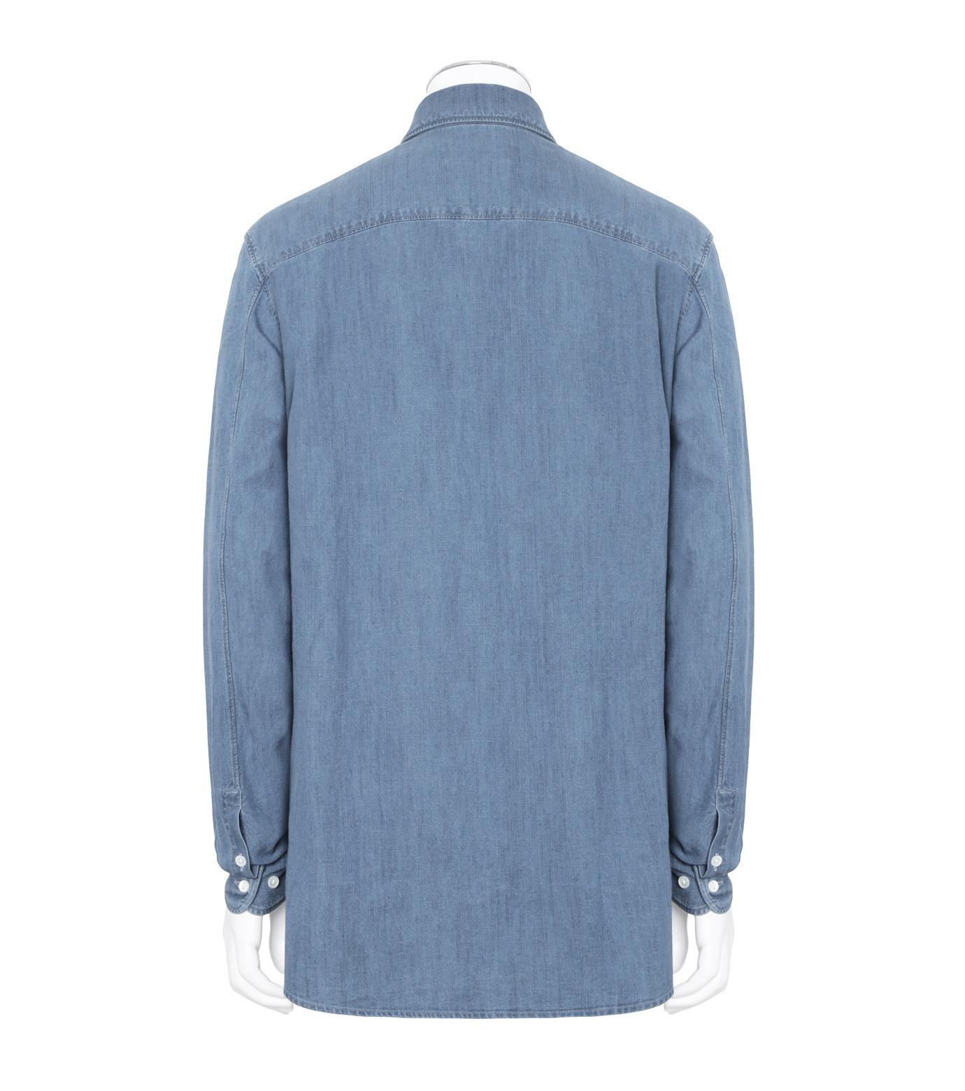 Herculie()のClassic Shirt-BLUE(シャツ/shirt)-SHIRT-115-92 拡大詳細画像2