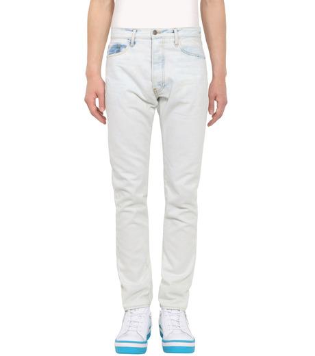ROUNDEL LONDON(ラウンデル ロンドン)のSUBURBAN DNM-WHITE(パンツ/pants)-SMRLAM60057-4 詳細画像1