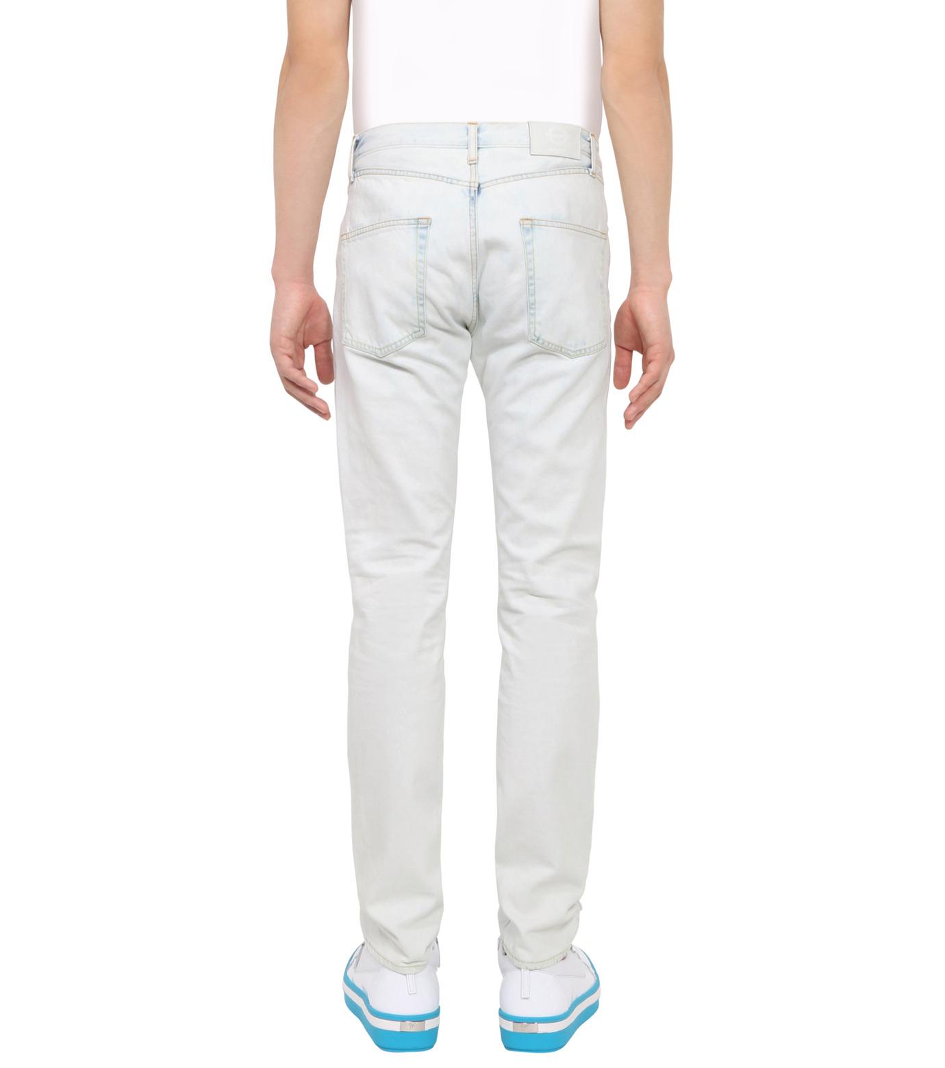 ROUNDEL LONDON(ラウンデル ロンドン)のSUBURBAN DNM-WHITE(パンツ/pants)-SMRLAM60057-4 拡大詳細画像2