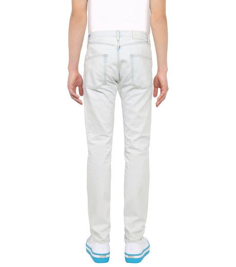 ROUNDEL LONDON(ラウンデル ロンドン)のSUBURBAN DNM-WHITE(パンツ/pants)-SMRLAM60057-4 詳細画像2