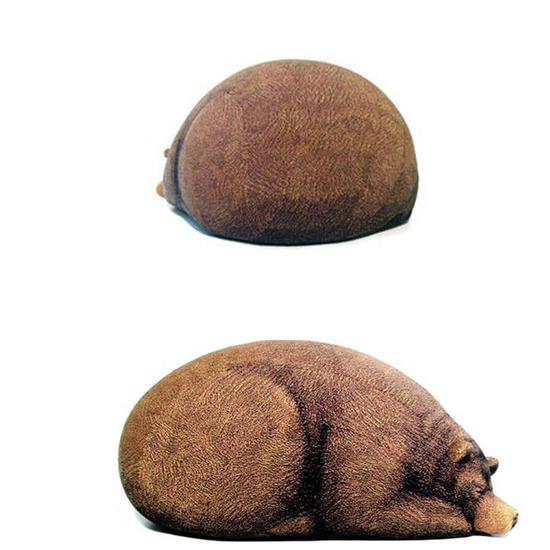 Chic Sin Design()のSleeping Small Bear-BROWN(インテリア/interior)-SNB002-42 詳細画像4