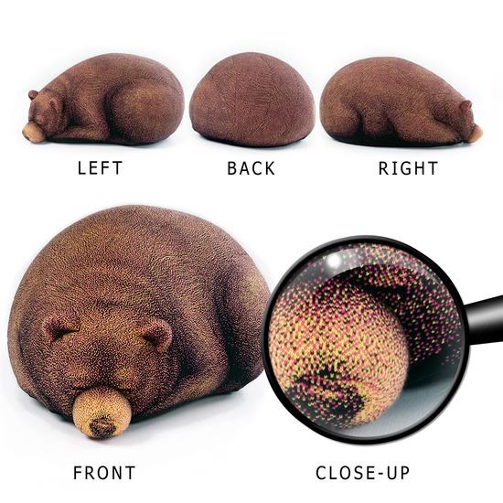 Chic Sin Design()のSleeping Small Bear-BROWN(インテリア/interior)-SNB002-42 詳細画像6