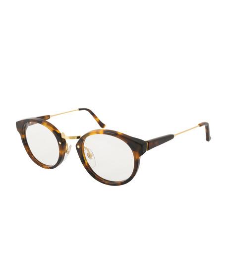 SUPER(スーパー)のPANAMA HAVANA CLASSIC CLEAR LENS-BROWN(アイウェア/eyewear)-SPRXXXX055-42 詳細画像1