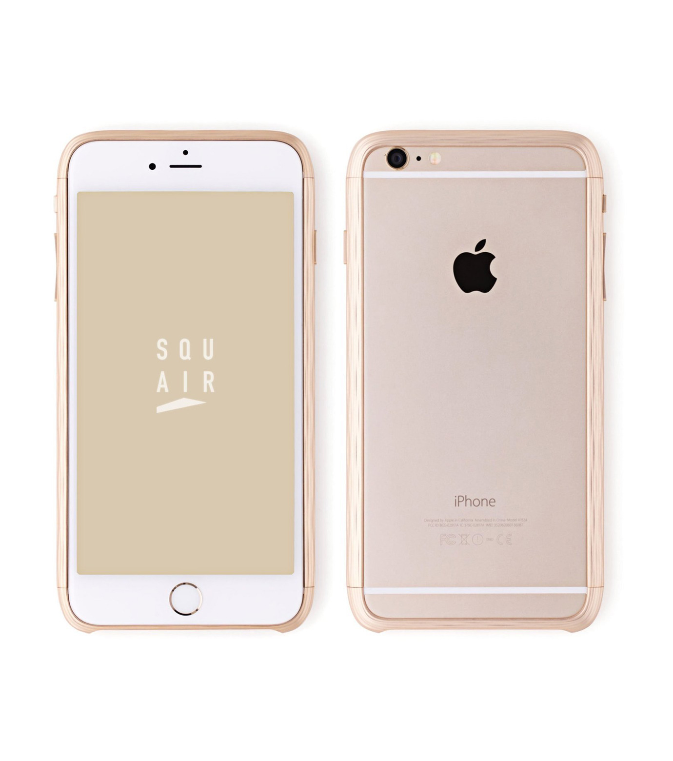 SQUAIR(スクエア)のThe Dimple for iPhone6-GOLD(ケースiphone6/6s/case iphone6/6s)-SQDMP620-GLD-2 拡大詳細画像1