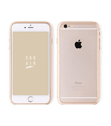 SQUAIR(スクエア)のThe Dimple for iPhone6-GOLD(ケースiphone6/6s/case iphone6/6s)-SQDMP620-GLD-2 詳細画像1