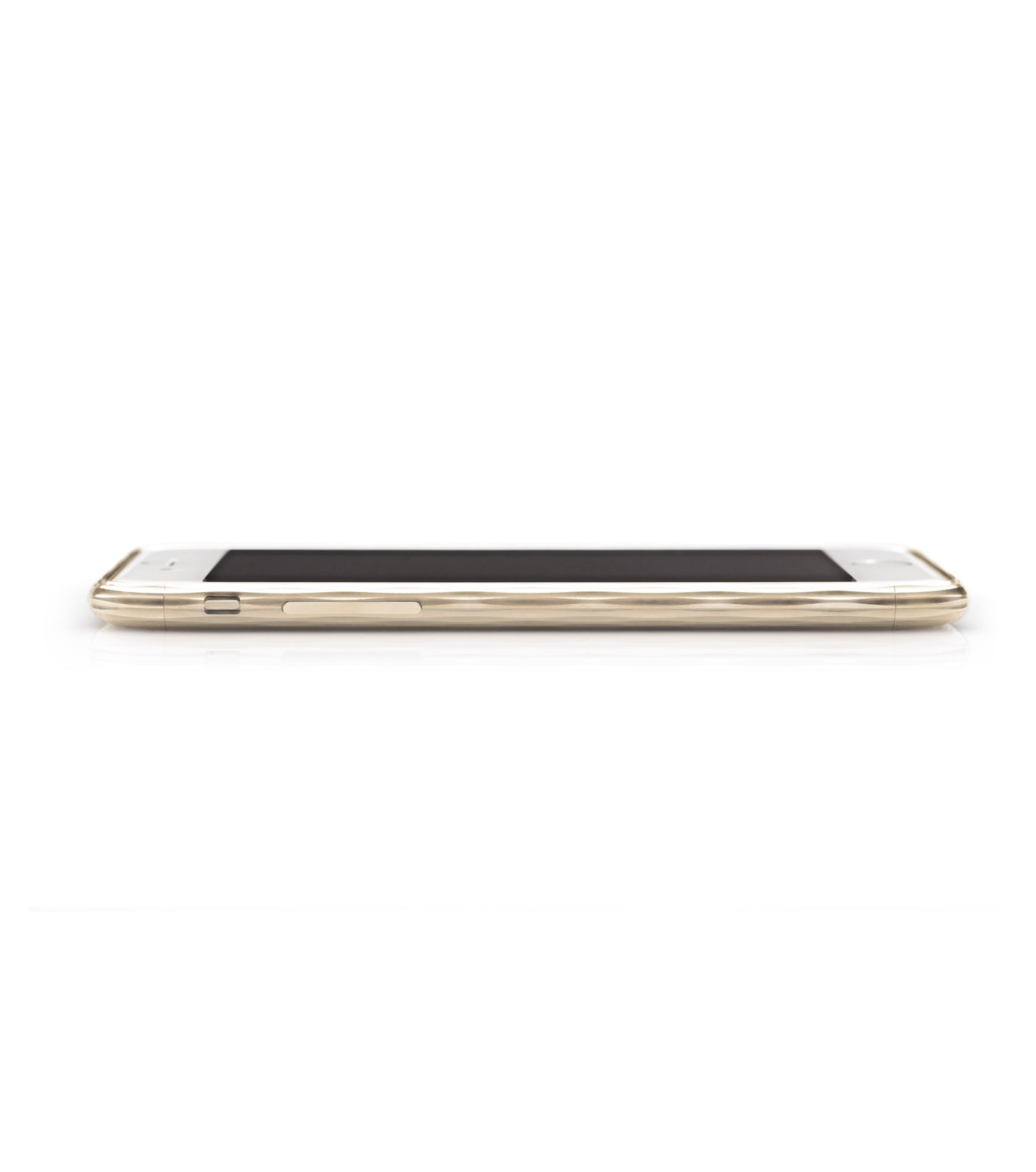 SQUAIR(スクエア)のThe Dimple for iPhone6-GOLD(ケースiphone6/6s/case iphone6/6s)-SQDMP620-GLD-2 拡大詳細画像2
