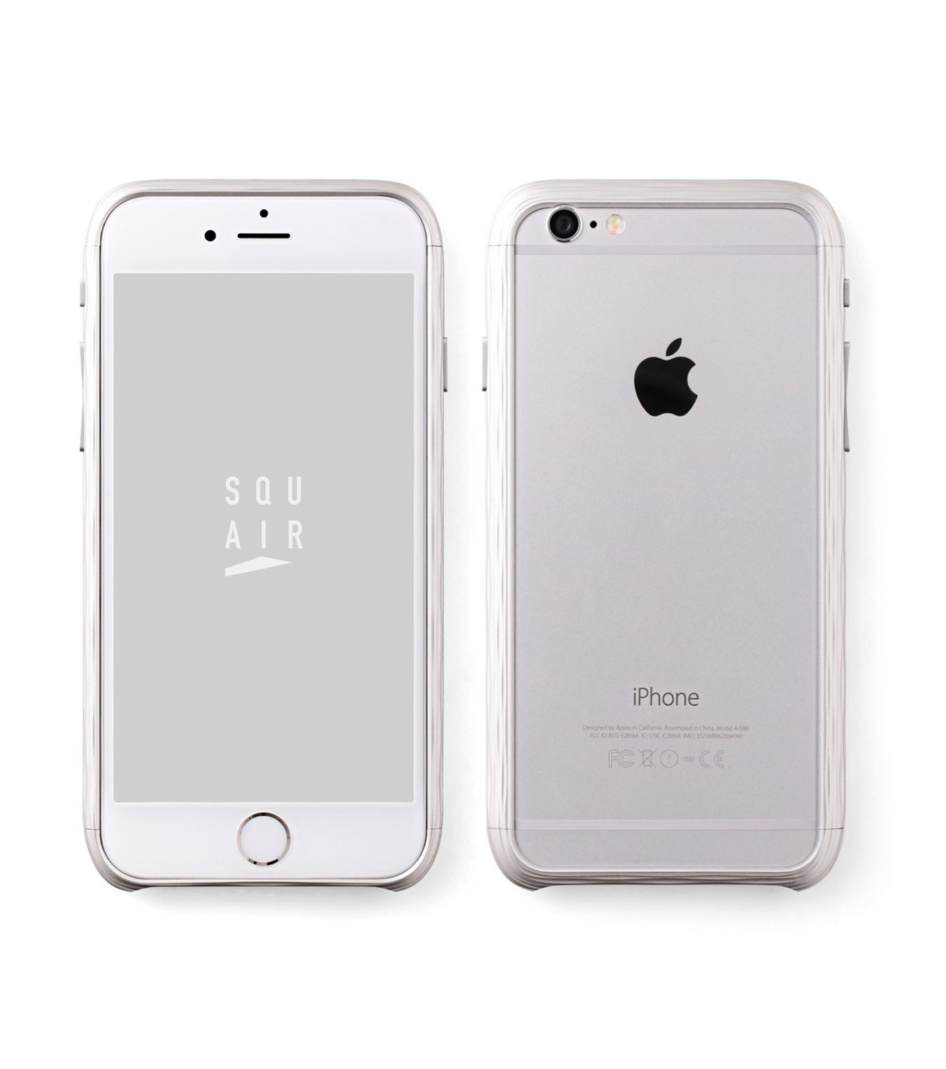 SQUAIR(スクエア)のThe Dimple for iPhone6-SILVER(ケースiphone6/6s/case iphone6/6s)-SQDMP620-SLV-1 拡大詳細画像1