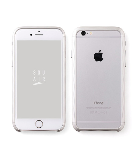 SQUAIR(スクエア)のThe Dimple for iPhone6-SILVER(ケースiphone6/6s/case iphone6/6s)-SQDMP620-SLV-1 詳細画像1