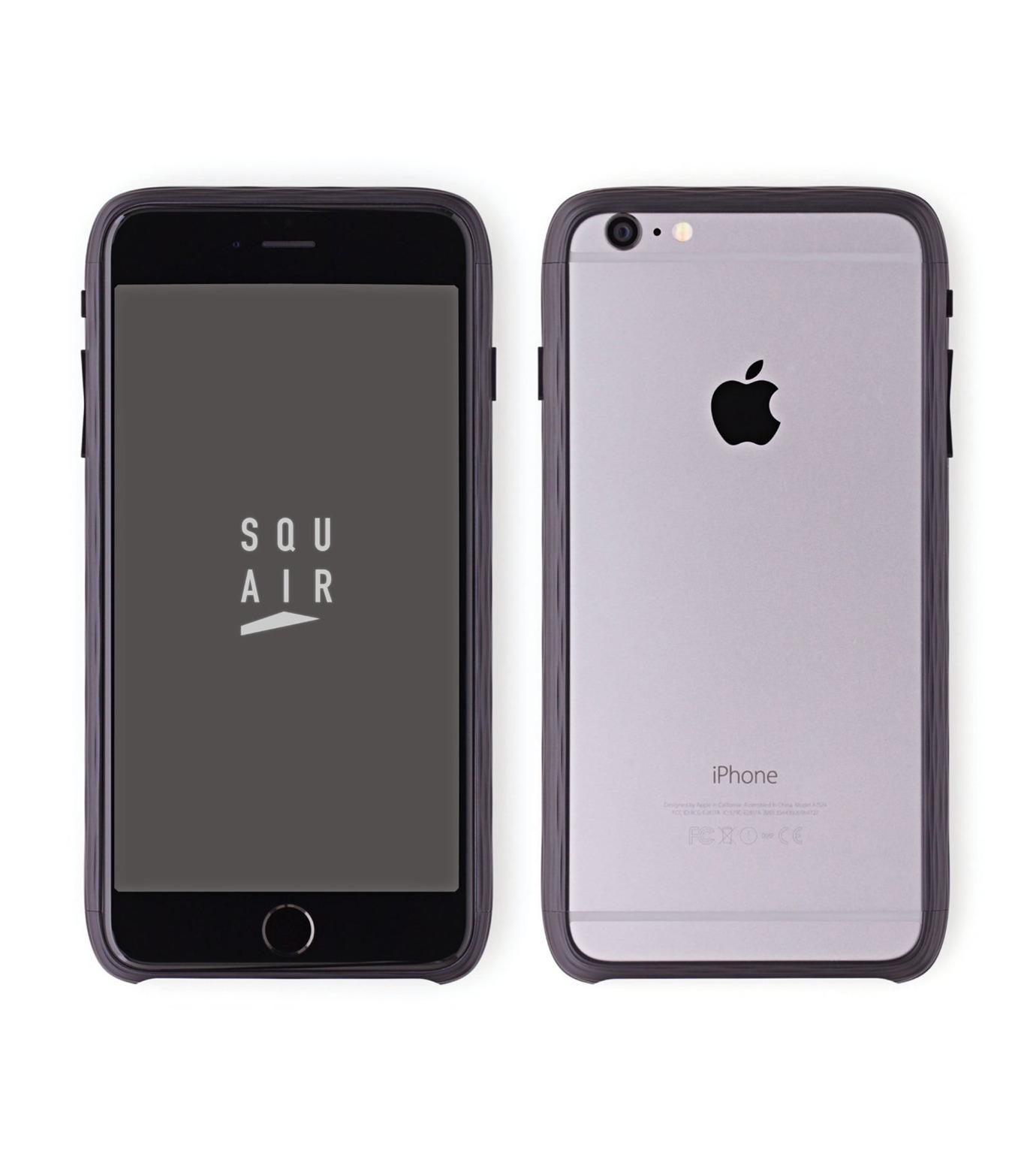 SQUAIR(スクエア)のThe Dimple for iPhone6s plus-BLACK(ケースiphone6plus/6splus/case iphone6plus/6splus)-SQDMP630-BLK-13 拡大詳細画像1