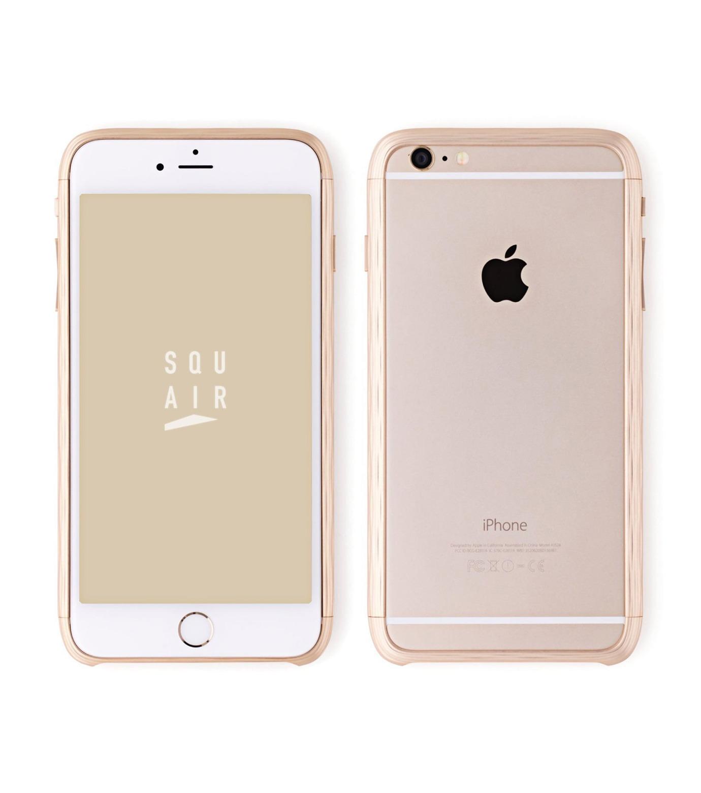 SQUAIR(スクエア)のThe Dimple for iPhone6s plus-GOLD(ケースiphone6plus/6splus/case iphone6plus/6splus)-SQDMP630-GLD-2 拡大詳細画像1