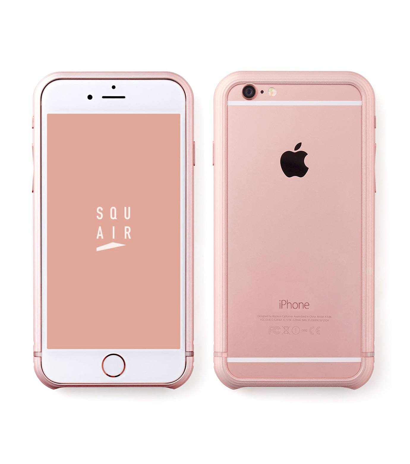 SQUAIR(スクエア)のThe Dimple for iPhone6s plus-GOLD(ケースiphone6plus/6splus/case iphone6plus/6splus)-SQDMP630-RGD-2 拡大詳細画像1