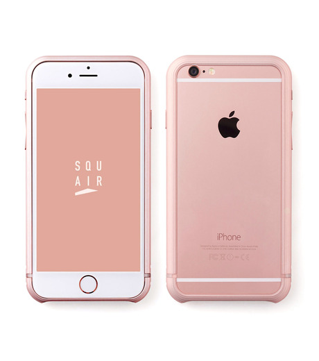 SQUAIR(スクエア)のThe Dimple for iPhone6s plus-GOLD(ケースiphone6plus/6splus/case iphone6plus/6splus)-SQDMP630-RGD-2 詳細画像1