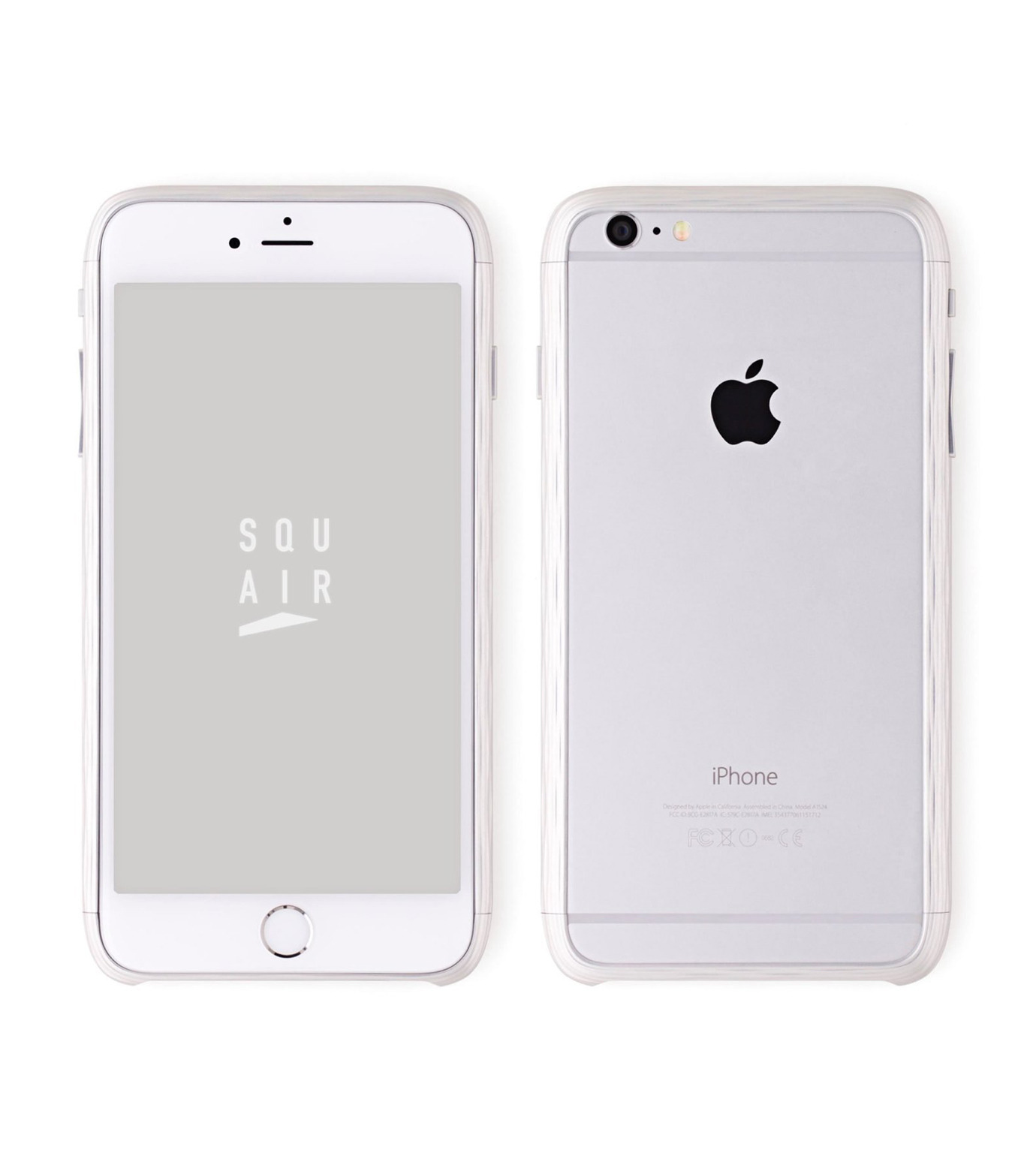 SQUAIR(スクエア)のThe Dimple for iPhone6s plus-SILVER(ケースiphone6plus/6splus/case iphone6plus/6splus)-SQDMP630-SLV-1 拡大詳細画像1