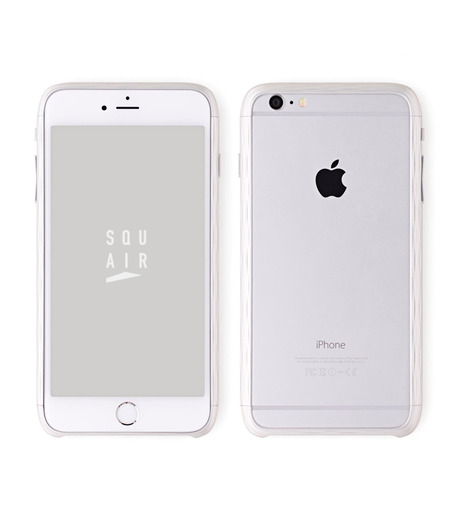 SQUAIR(スクエア)のThe Dimple for iPhone6s plus-SILVER(ケースiphone6plus/6splus/case iphone6plus/6splus)-SQDMP630-SLV-1 詳細画像1
