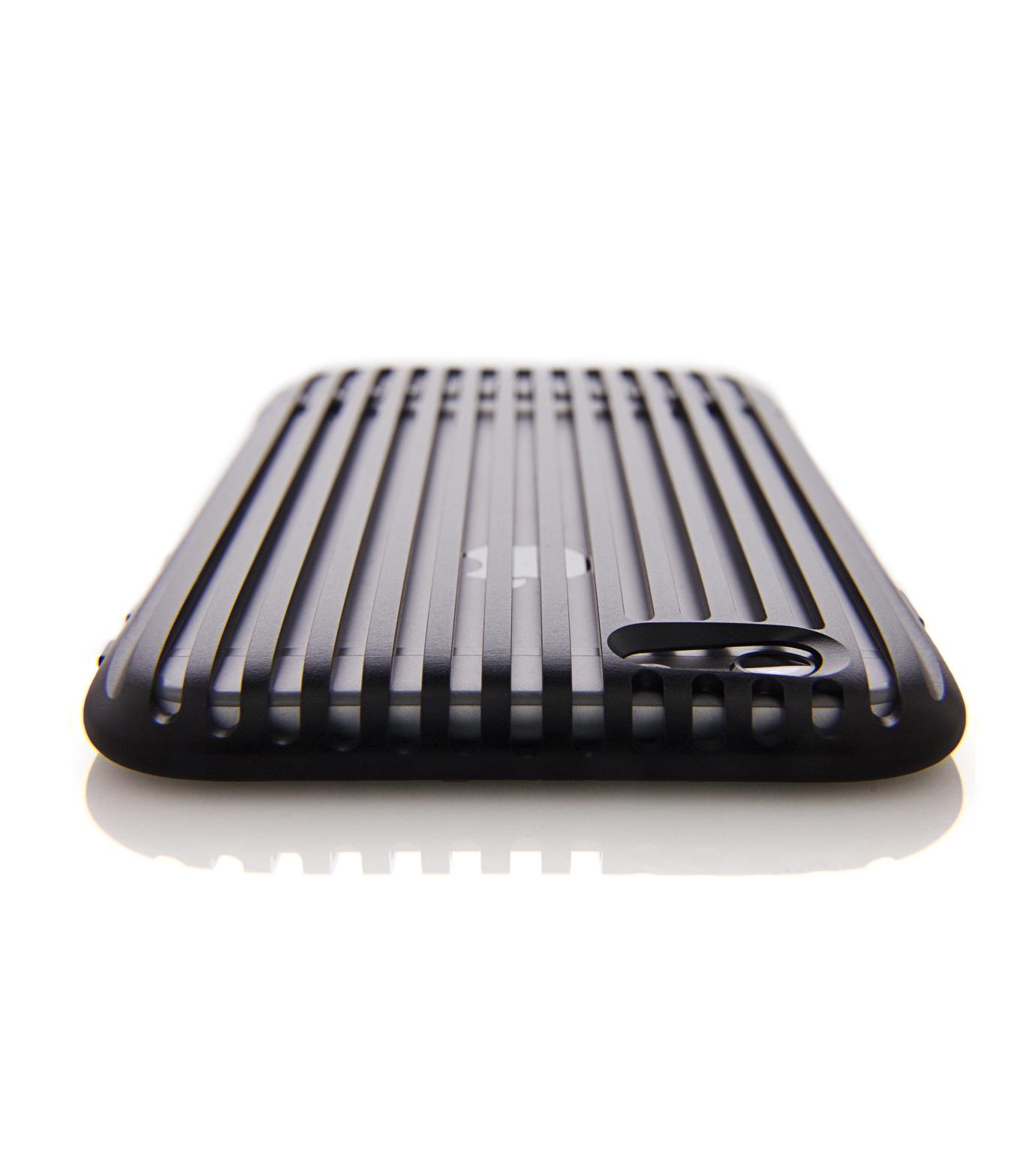 SQUAIR(スクエア)のThe Slit for iPhone6-BLACK(ケースiphone6/6s/case iphone6/6s)-SQSLT620-BLK-13 拡大詳細画像1