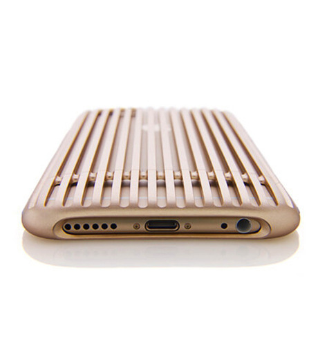 SQUAIR(スクエア)のThe Slit for iPhone6-GOLD(ケースiphone6/6s/case iphone6/6s)-SQSLT620-GLD-2 詳細画像2