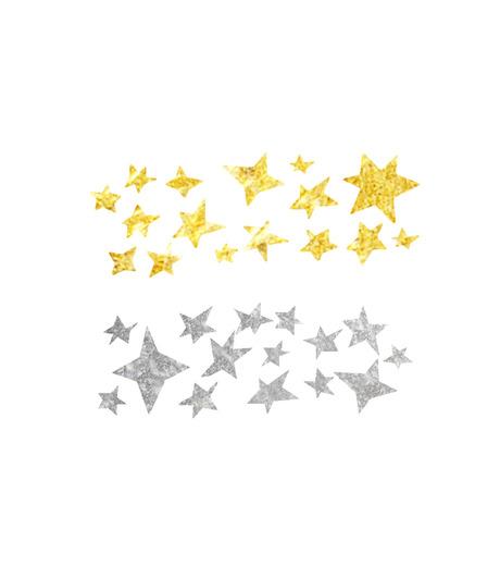 DCER(ディーシーイーアール)のMetallic Star Dust Tattoo-MULTI COLOUR(MAKE-UP/MAKE-UP)-SS15009-9 詳細画像1