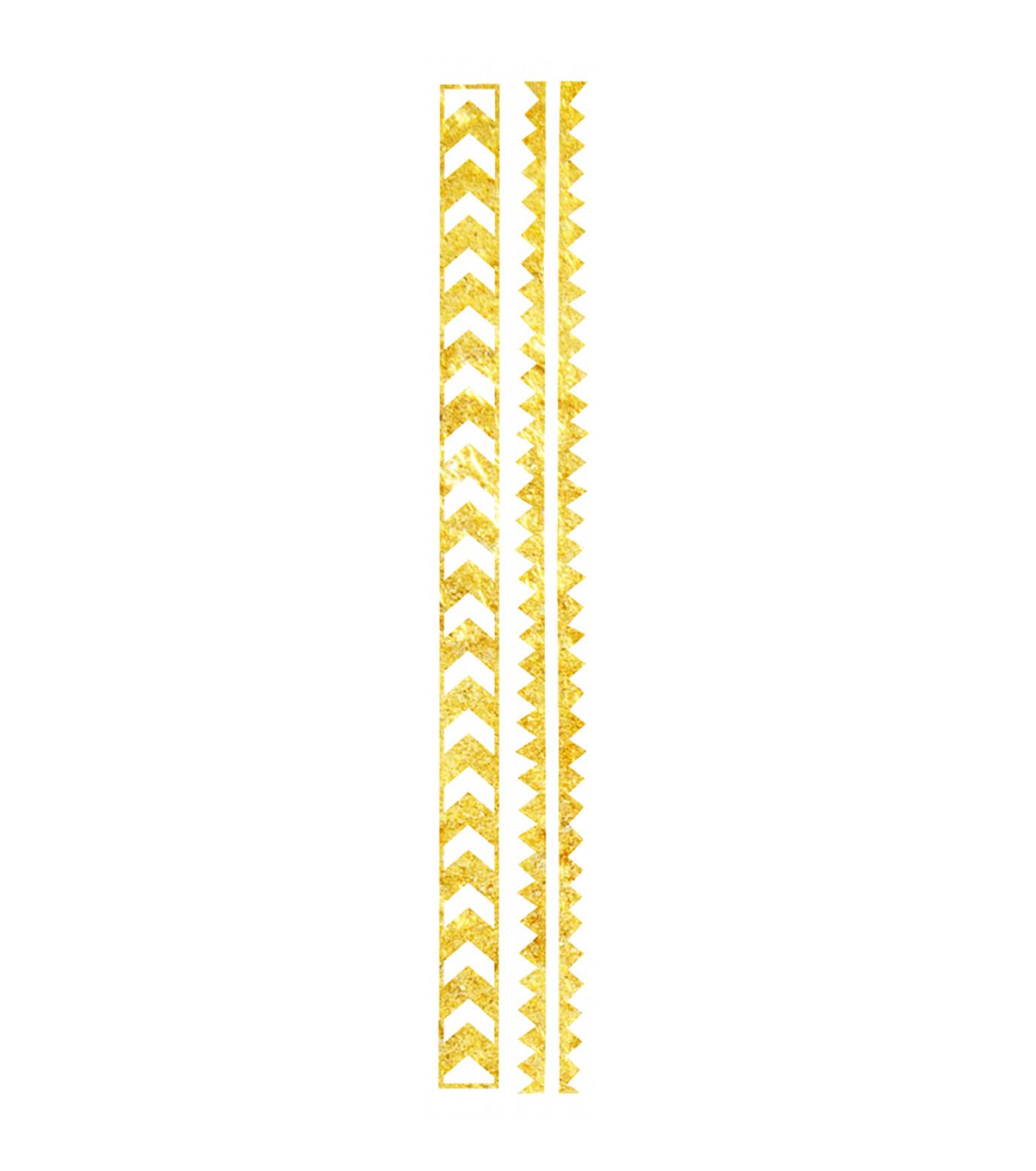 DCER(ディーシーイーアール)のGold Arrow Bracelet Tattoo-BLACK(MAKE-UP/MAKE-UP)-SS15014-13 拡大詳細画像1