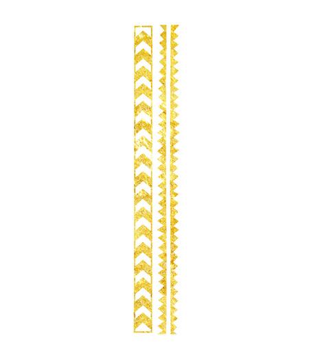 DCER(ディーシーイーアール)のGold Arrow Bracelet Tattoo-BLACK(MAKE-UP/MAKE-UP)-SS15014-13 詳細画像1