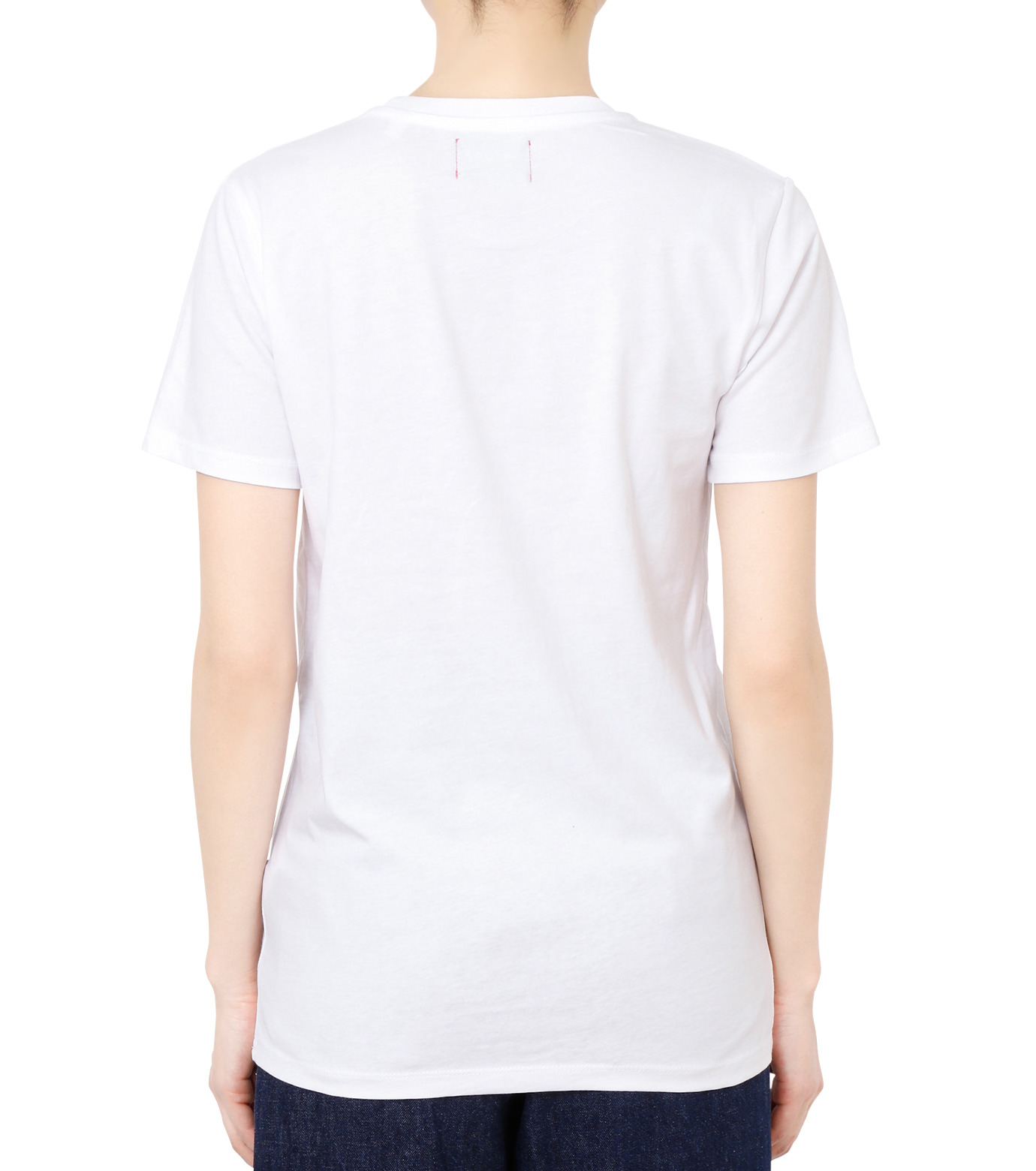 No One(ノーワン)のBELLEVILLE HILLS Logo T-shirt-WHITE(カットソー/cut and sewn)-SS910W-4 拡大詳細画像2