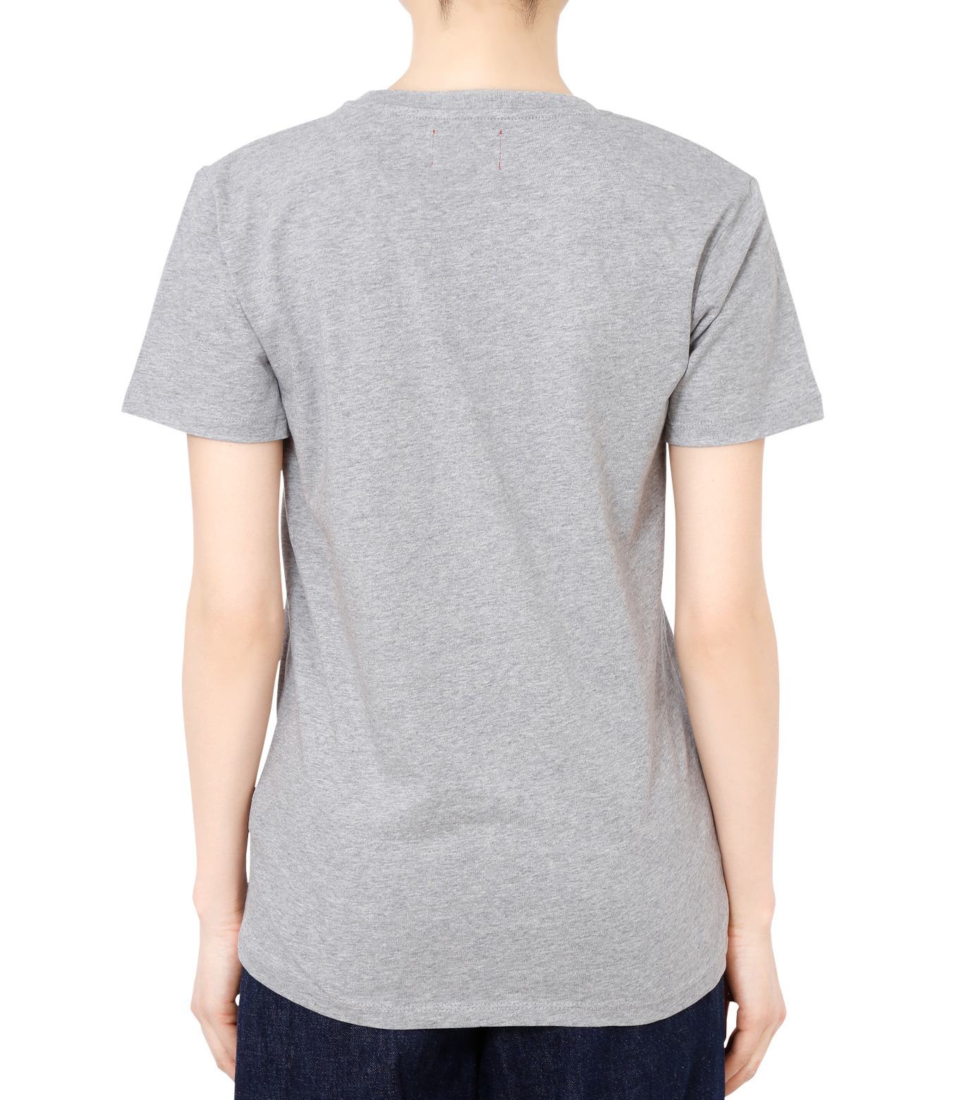 No One(ノーワン)のBELLEVILLE HILLS Logo T-shirt-GRAY(カットソー/cut and sewn)-SS930G-11 拡大詳細画像2