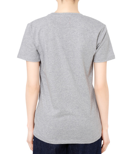 No One(ノーワン)のBELLEVILLE HILLS Logo T-shirt-GRAY(カットソー/cut and sewn)-SS930G-11 詳細画像2
