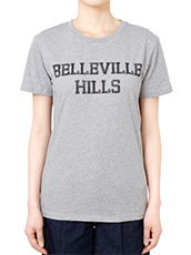 No One BELLEVILLE HILLS Logo T-shirt