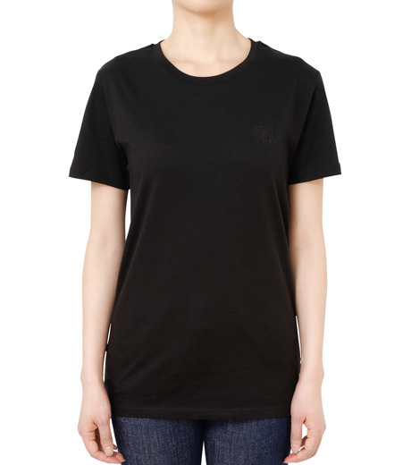 No One(ノーワン)のEmblem T-shirt-BLACK(カットソー/cut and sewn)-SS980B-13 詳細画像1