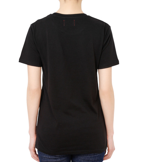No One(ノーワン)のEmblem T-shirt-BLACK(カットソー/cut and sewn)-SS980B-13 詳細画像2