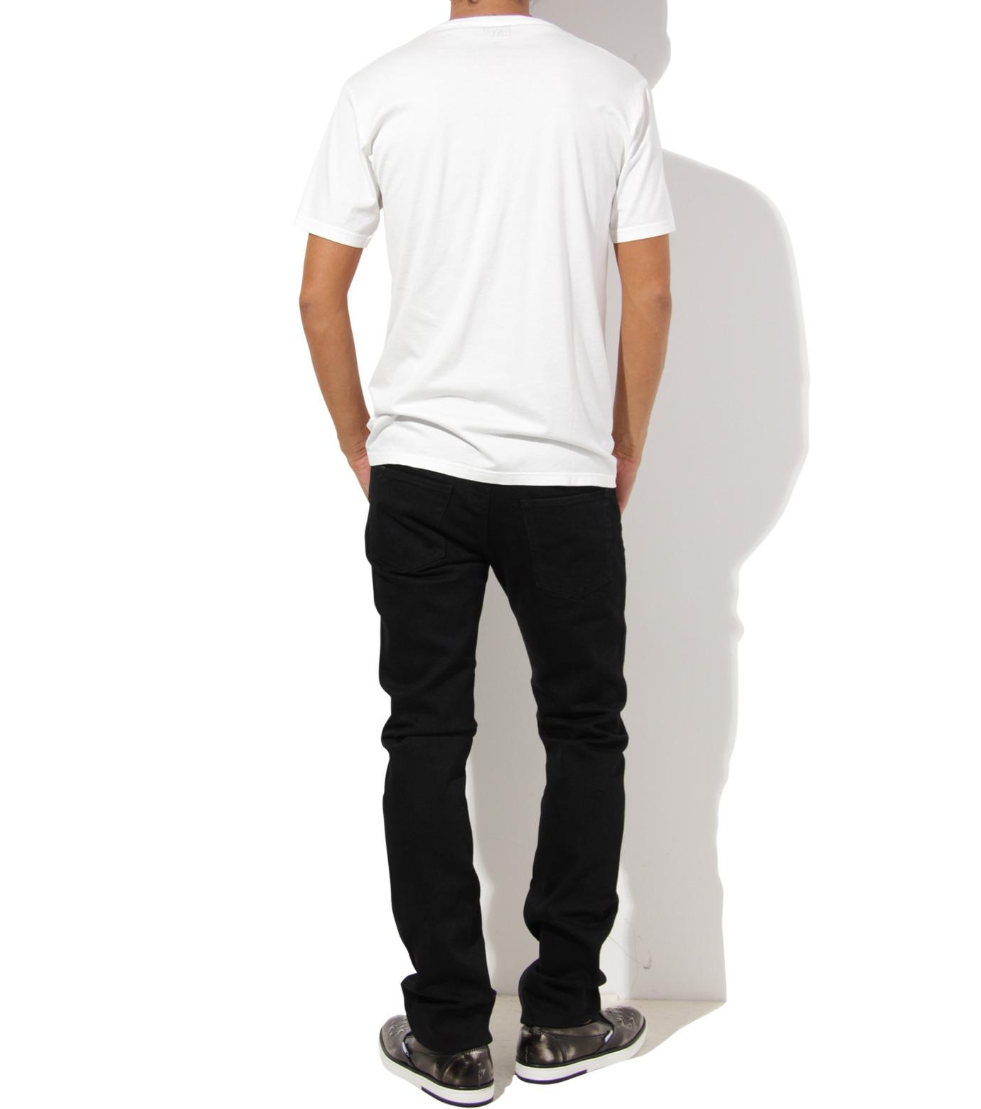 Heddie Lovu(エディー ルーヴ)のV NECK 【SLIM】-WHITE(カットソー/cut and sewn)-ST-S2-00-14A 拡大詳細画像4