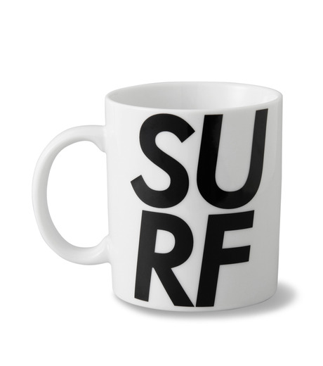 HEY YOU !(ヘイユウ)のSURF MUG CUP-WHITE(キッチン/kitchen)-SURF-MAG-4 詳細画像1